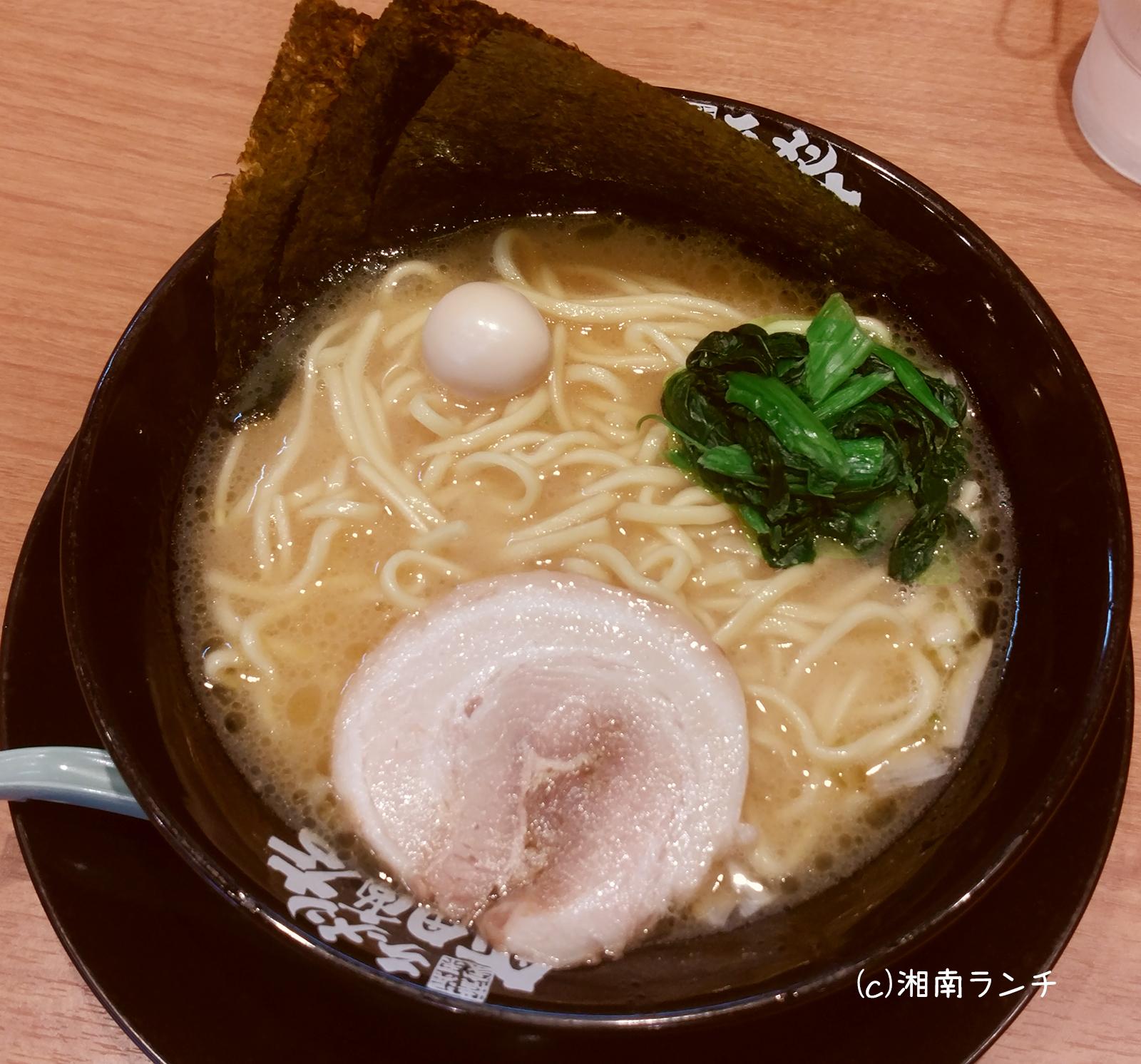 家系ラーメン町田商店藤沢湘南台店ラーメン(しょうゆ)